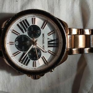 Men's Michael Kors Chronograph Rose Gold Watch